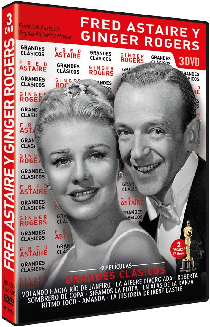 Fred Astaire Ginger Rogers The Complete 1930s Collection 9 Films 3 Dvds Region Free Import Amazon Co Uk Fred Astaire Ginger Rogers Dvd Blu Ray