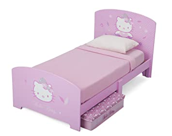 Delta Bb 87179 Hello Kitty Kinderbett 145 X 76 Cm Ohne