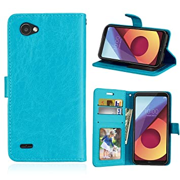 the latest ffe8d 5ea5b Amazon.com: Scheam LG Q6 Case, LG Q6 Cover Thin Flip Cover Case ...