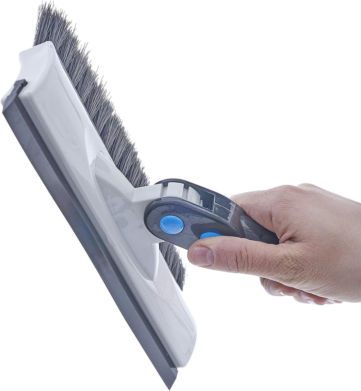 T-Shape Telescopic Auto Ice Scraper and Snow Brush 2-Pack Scraper Brush Eva Foam Comfort Grip on Aluminum Handle Superio Extendable Snow Brush with Squeegee /& Ice Scraper