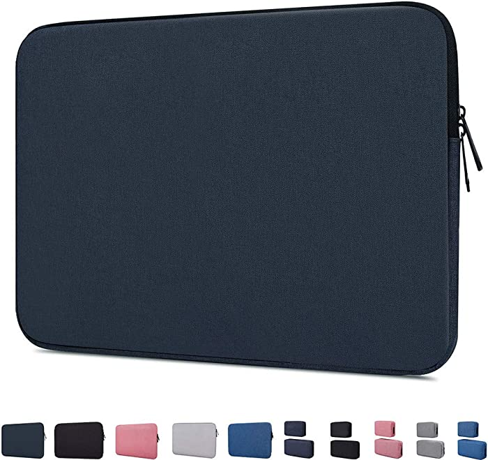 """11.6 Inch Waterproof Laptop Sleeve Case Compatible Acer Chromebook 11.6"""",HP Chromebook 11,Dell Inspiron 11,ASUS Chromebook 11.6,Samsung Chromebook 11.6"""",Lenovo Chromebook Notebook Tablet Bag,Navy Blue"""