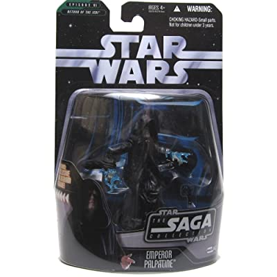 Star Wars - The Saga Collection - Basic Figure - Emperor: Toys & Games