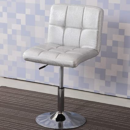 Bar Chair The Front Desk Receives The Silver Chair Swivel Chair