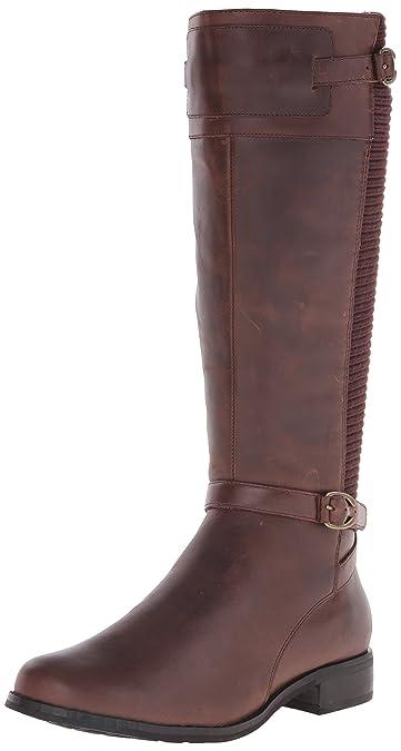 Aetrex Chelsea Tall Lea Riding Boot, Brown Wd05 EU