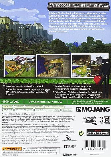 Minecraft Xbox Amazonde Games - Minecraft haus bauen xbox 360