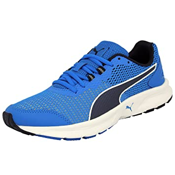 Puma DESCENDANT V4 Blue Men Running Shoes Evertrack: Amazon