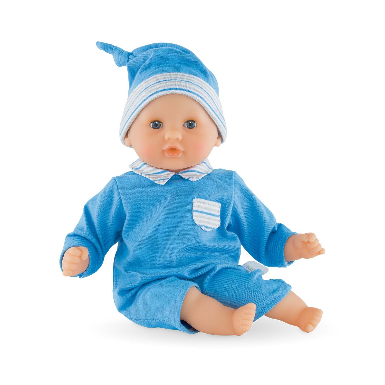 Corolle FFP30 - Calin Mon Premier, Puppe, 30 cm, blau