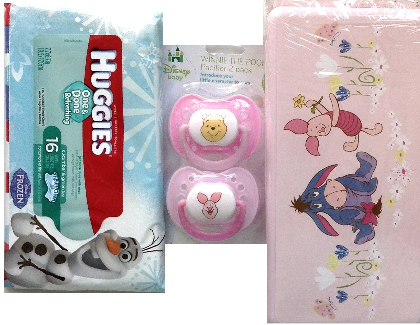 Amazon.com: Eeyore, Piglet Winnie the Pooh y Tiger chupetes ...