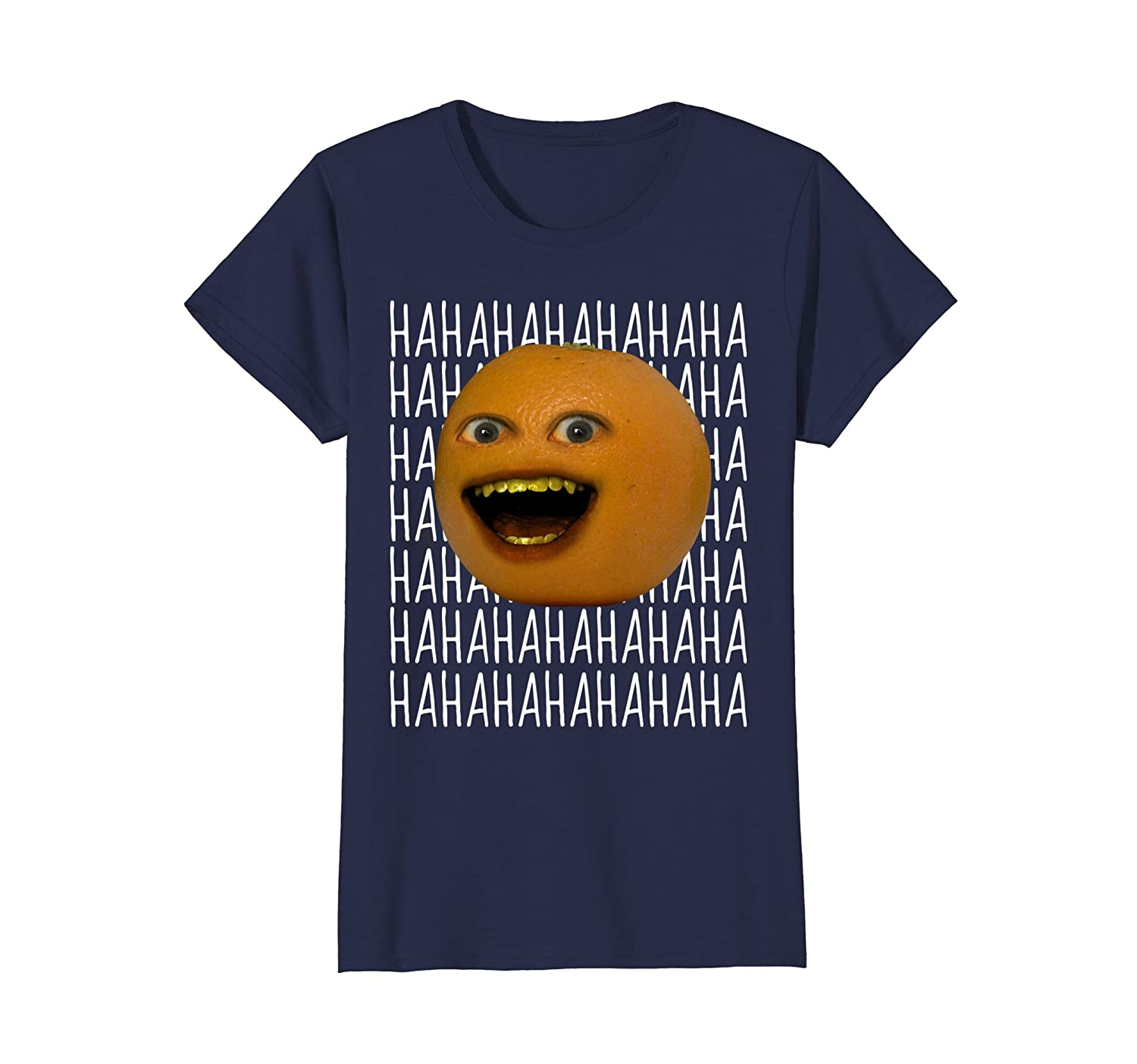 Annoying Orange Ha Ha Ha T Shirt-Teehay
