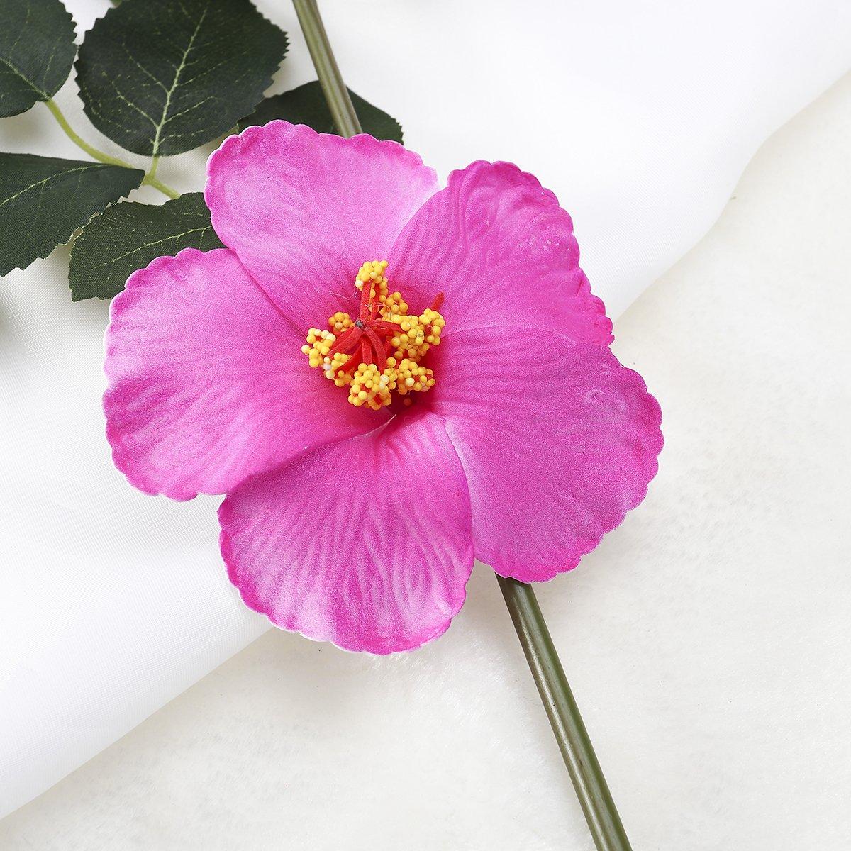 Amazon Tinksky Hibiscus Flowers Hawaiian Flowers Artificial