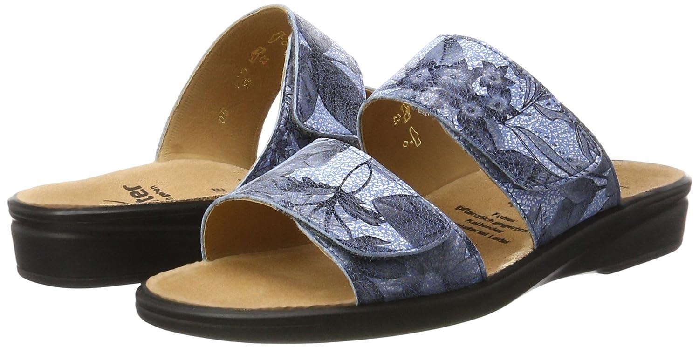 Ganter Damen Sonnica-e (Jeans) Pantoletten Blau (Jeans) Sonnica-e 817336