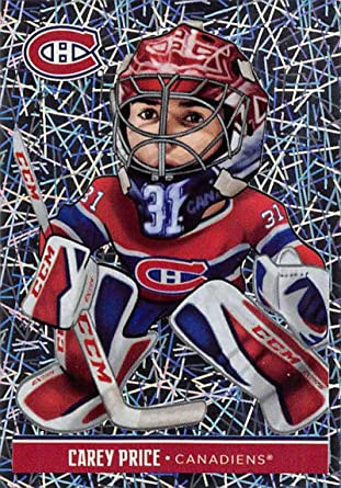 Amazon Com 2018 19 Panini Nhl Stickers Hockey 109 Carey Price Montreal Canadiens Fathead Foil Collectibles Fine Art