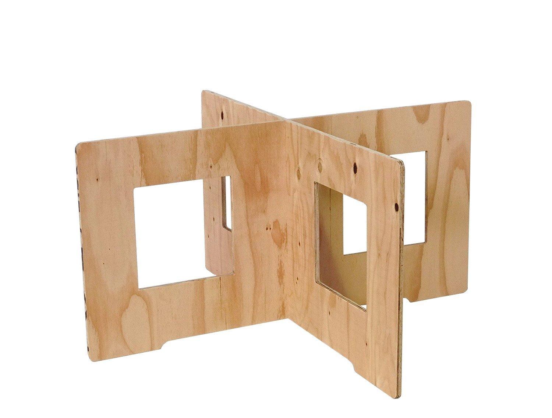 (木芸社)コンパネ作業台(針葉樹合板製) X脚 組立て式 ペケ台コンパネ簡易台BBQ (H450×W900mm(2組セット)) B01IUSLFWU   H450×W900mm(2組セット)