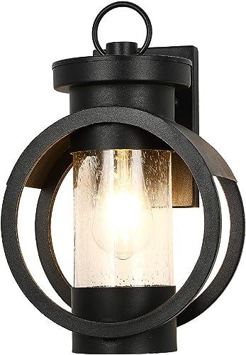 Industrial Outdoor Wall Lantern Modern Exterior Wall Mounted Light Fixtures Outdoor Wall Lamp Waterproof Metal House