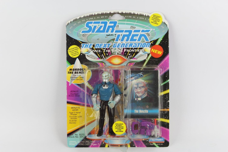 Playmates Star Trek Next Generation Mordock the Benzite figure New!