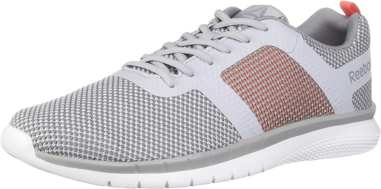 Reebok Pt Prime Runner Zapatillas de correr para mujer, Gris (Gris frío/Sombra fría/Rosa brillante/Blanco), 42.5 EU: Amazon.es: Zapatos y complementos