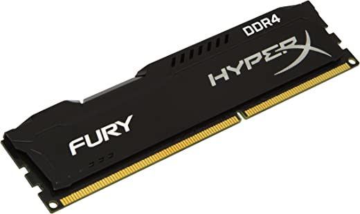 Kingston HyperX Fury RAM - 8GB - 2666 MHZ - DDR4-288-Pin - Black - HX426C15FB/8