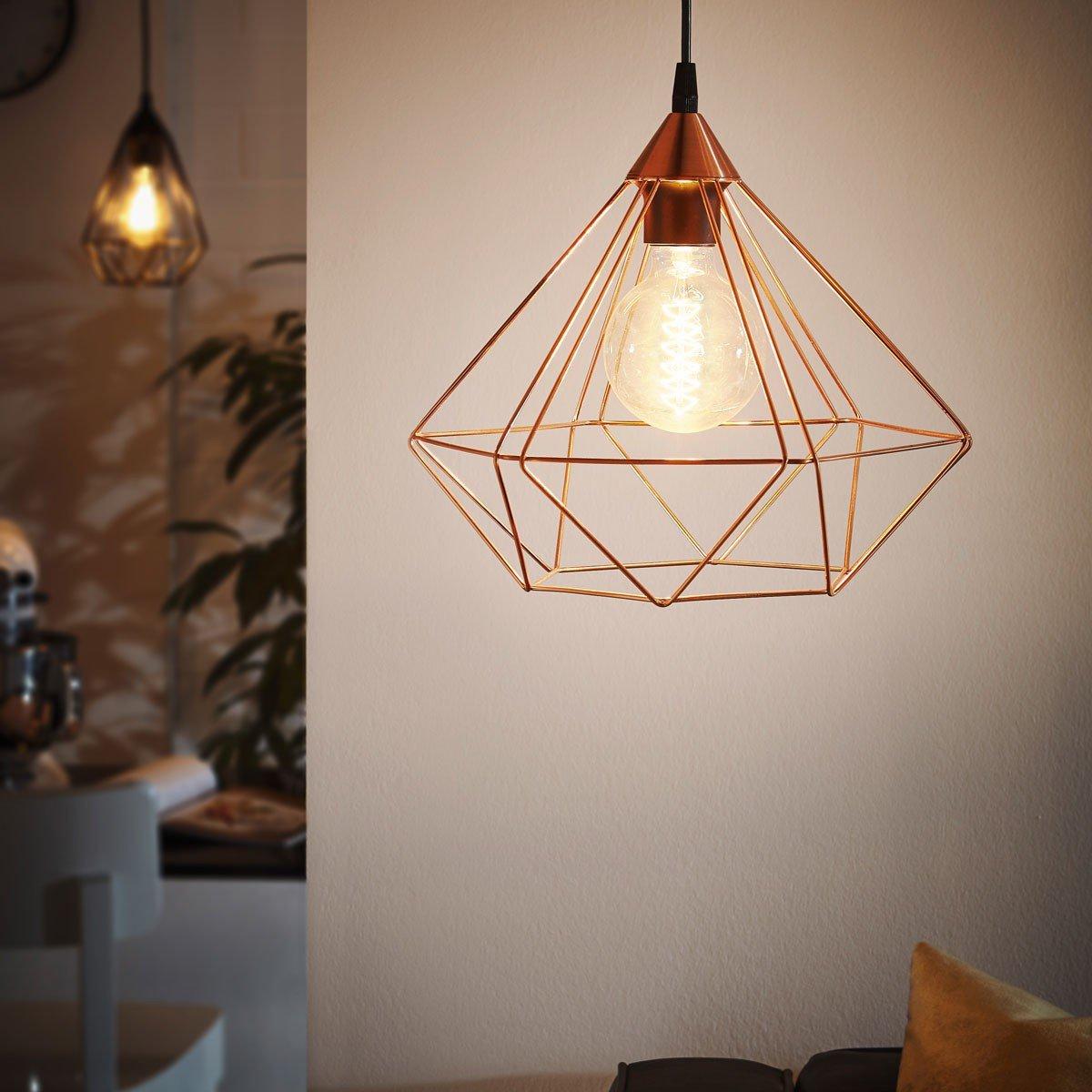 Licht-Trend Archaic L Pendelleuchte im Vintage-Look Kupfer ...