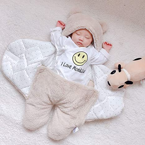92120ed75f9c Wanshop ® Baby Sleeping Bag Wrap Blanket Baby Boy Girl Hooded Jumpsuit  Rompers Swaddle Photography Prop for 0-12 Months  Amazon.co.uk  Clothing