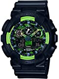 Casio G-Shock – Men's Analogue/Digital Watch with Resin Strap – GA-100LY-1AER