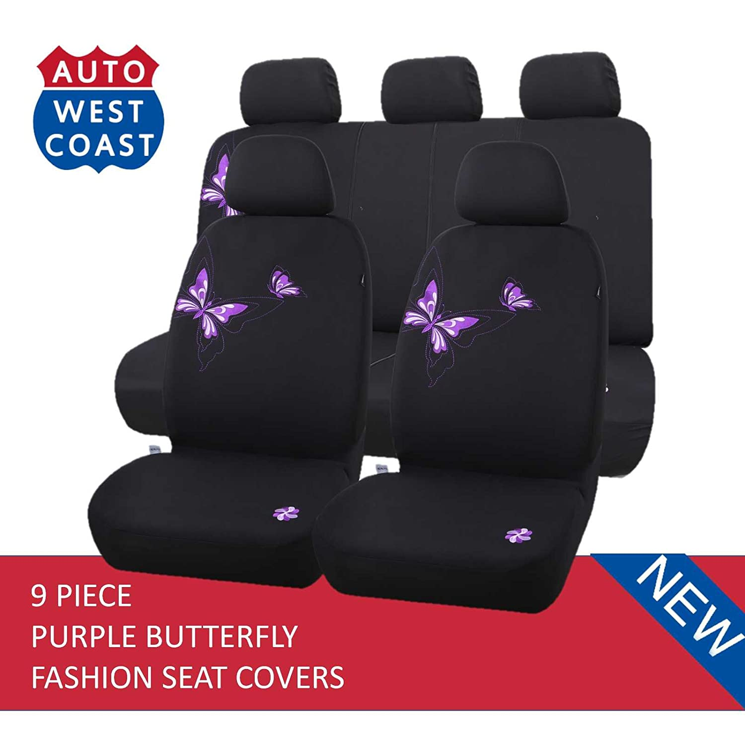 Fantastic Amazon Com West Coast Auto Car Seat Covers Set For Cars Pdpeps Interior Chair Design Pdpepsorg