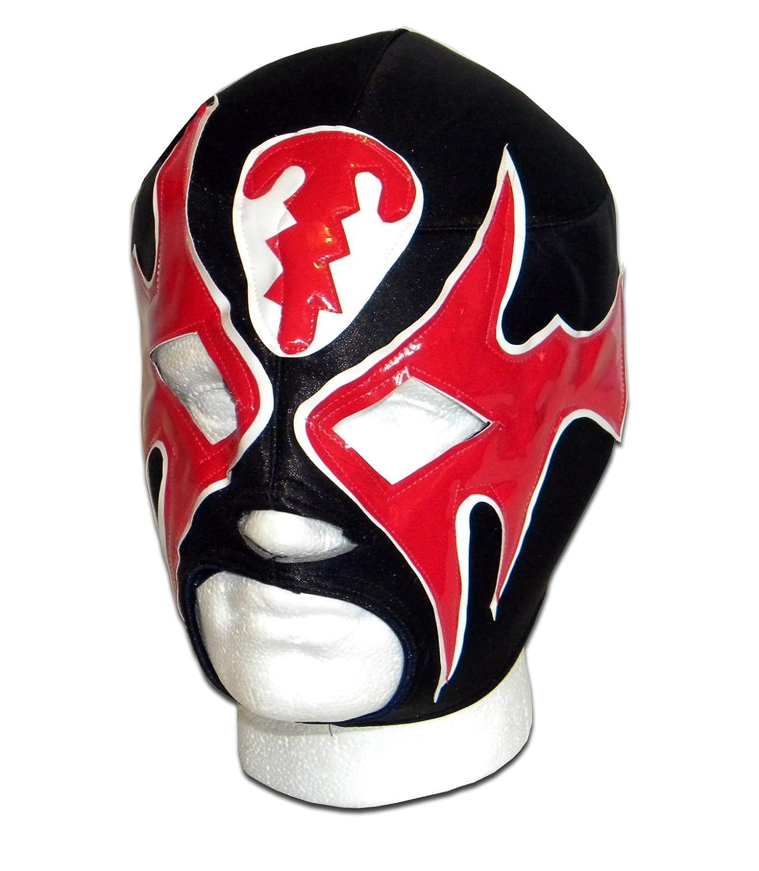 Atlantis noir rouge Masque catch mexicain adulte Lucha Luchadora