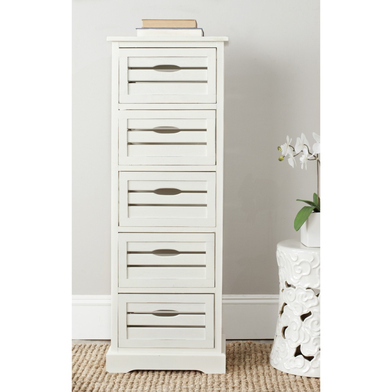 Safavieh American Homes Collection Sarina 5-Drawer Cabinet, Grey