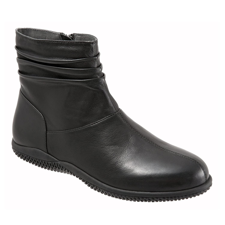 SoftWalk Women's Hanover Boot B00HQQQT56 8 N (AA) Black Soft Nappa Leather