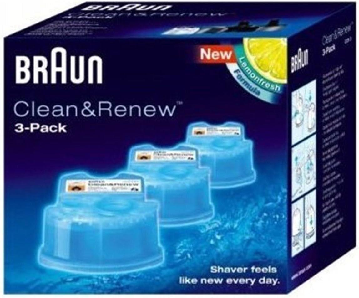 Braun Limpieza afeitadora Braun Clean & Charge CCR 3 unidades ...