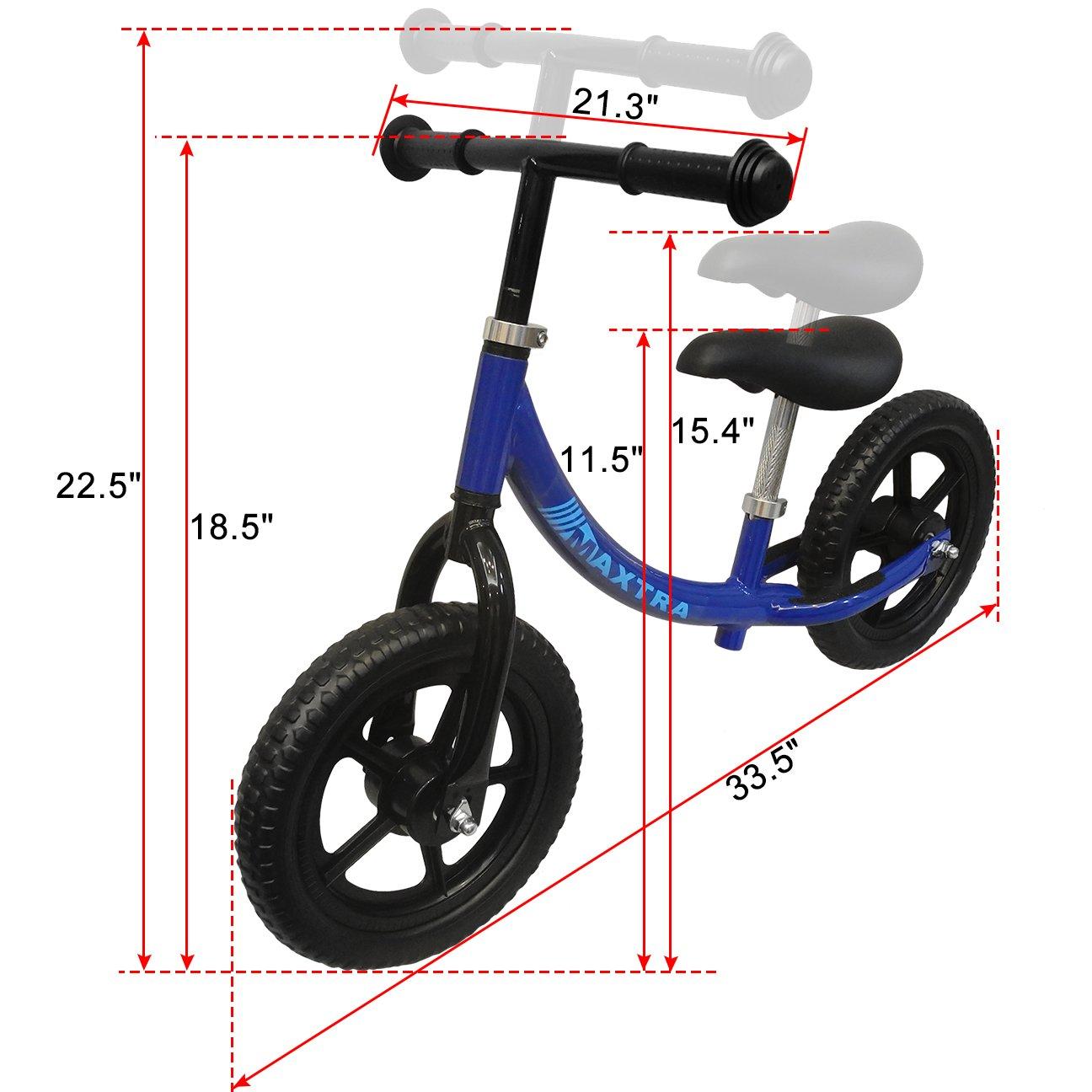 Maxtra Lightweight Balance Bike No Pedal Bicycle