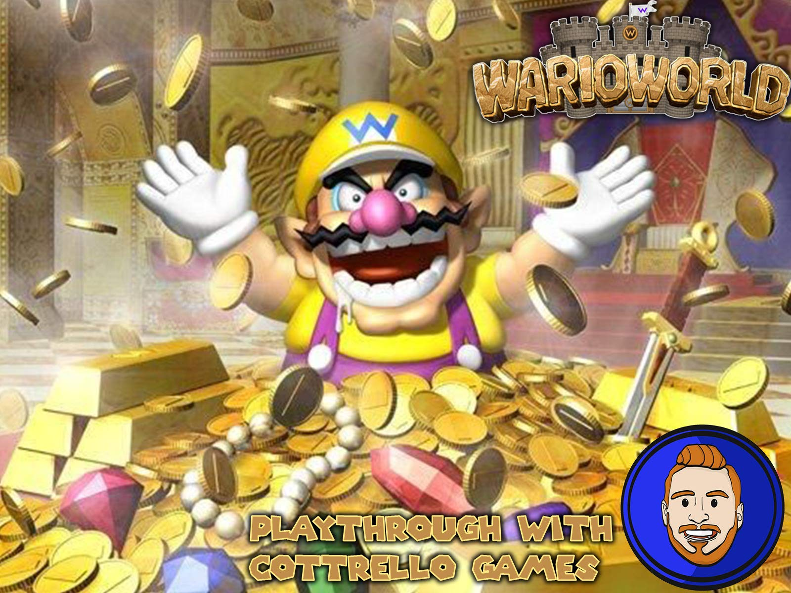 Wario World Playthrough with Cottrello Games