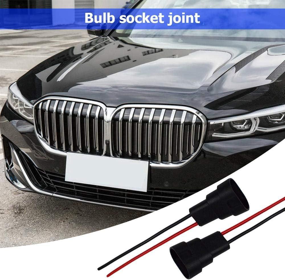 Broadroot 1 par HB3 9006 HB4 bulb Socket macho adaptador conector para faro antiniebla