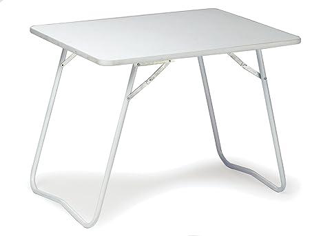Tavolo Pieghevole Bianco : Gelert tavolino pieghevole colore bianco amazon sport e