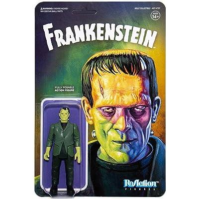 Super 7 Universal Monsters: Frankenstein Reaction Figure, Multicolor: Toys & Games