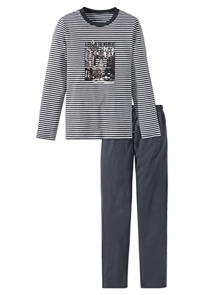 Schiesser niñas adolescentes pijamas Set largos con motivos de impresión XS-L, 140 a