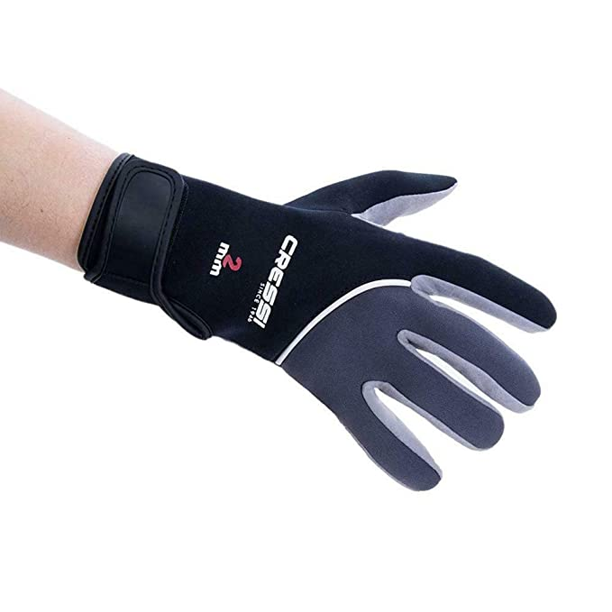 Cressi Tropical Gloves Guantes de Neopreno y Amara de Buceo Adulto 2 mm, Unisex