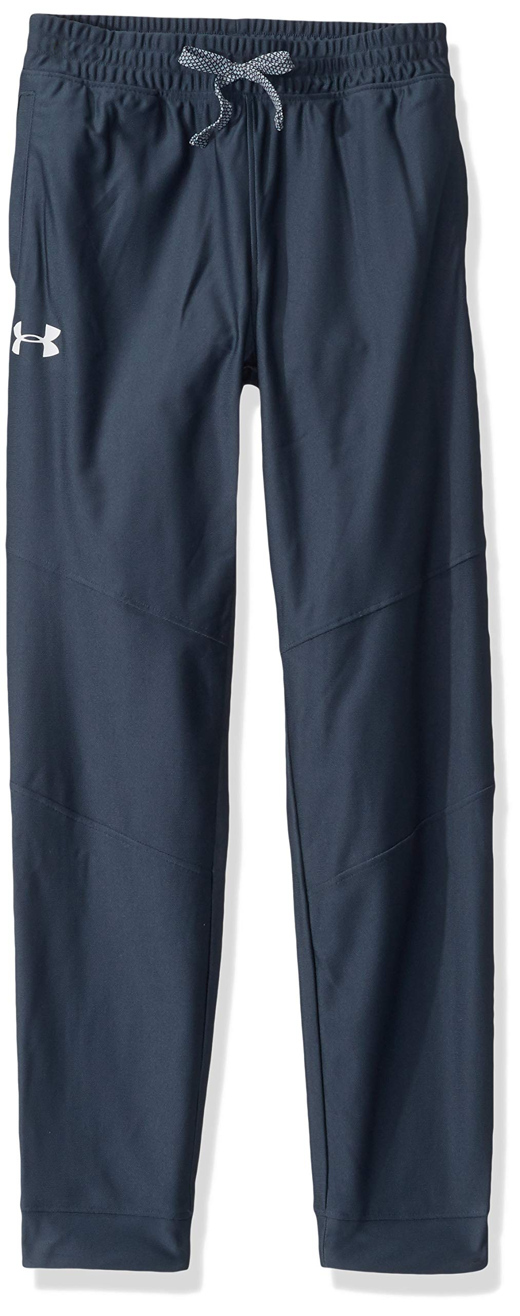 Under Armour Boys' Prototype Pants, Wire (073)/White, Youth X-Small by Under Armour