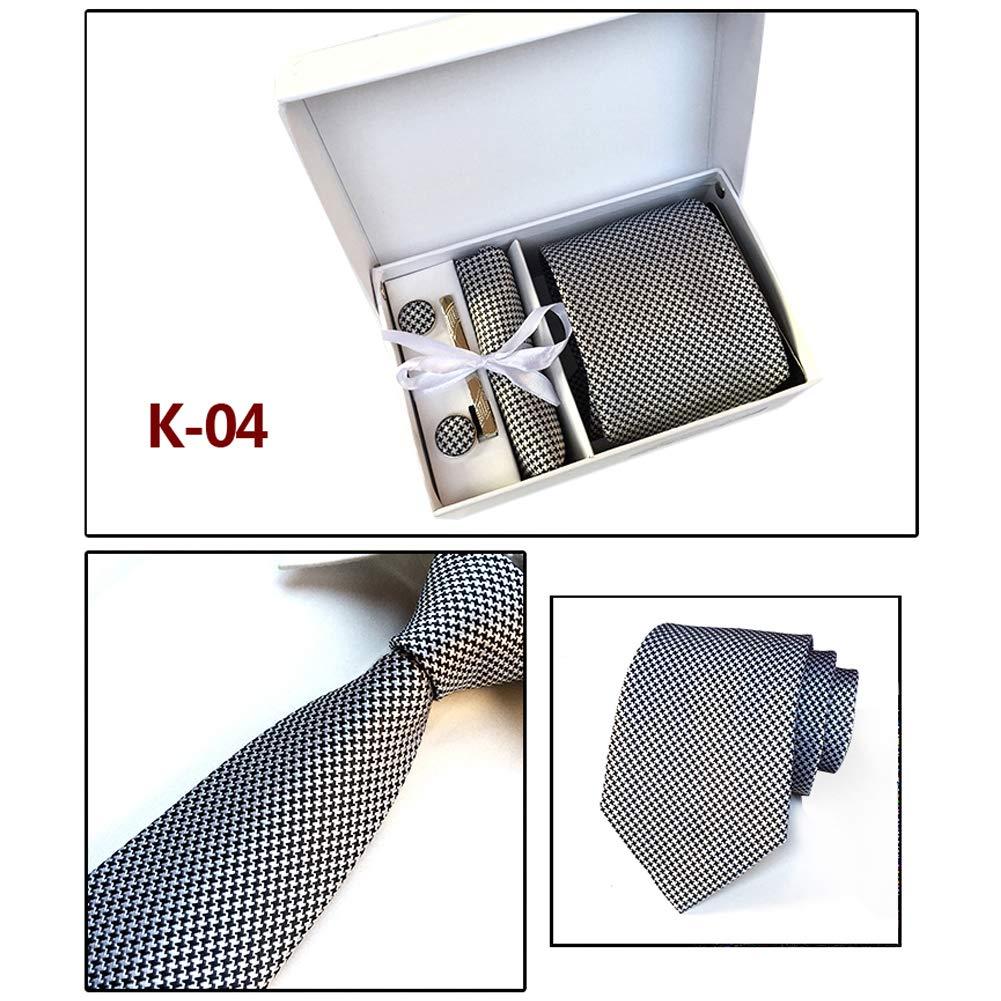 Scelet Corbata cl/ásica de los Hombres de la Corbata del Conjunto de la Corbata del Conjunto de la Corbata de los Hombres