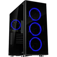 Rosewill R0901005-0118 ATX Mid Tower Gaming Computer Case Chassis (Blue)