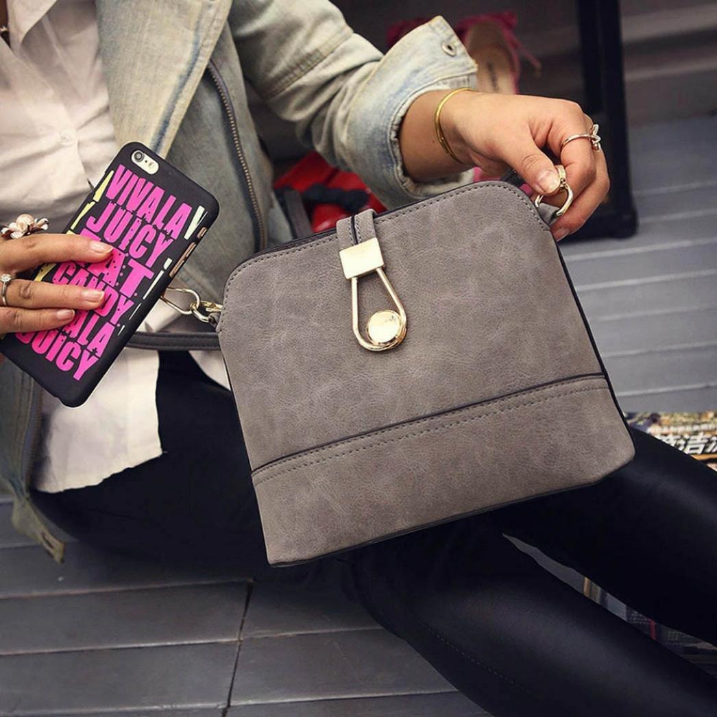 Amazon.com: Bravco Women Girls Fashion Retro Matte Handbag ...