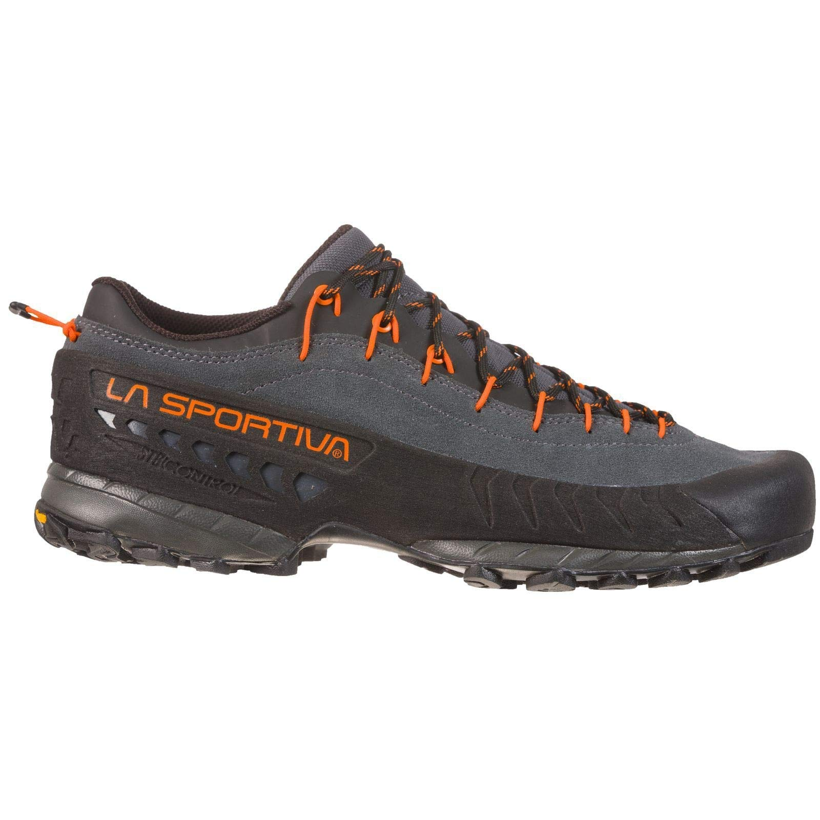 La Sportiva TX4 Approach Shoe, Carbon/Flame, 45.5 by La Sportiva