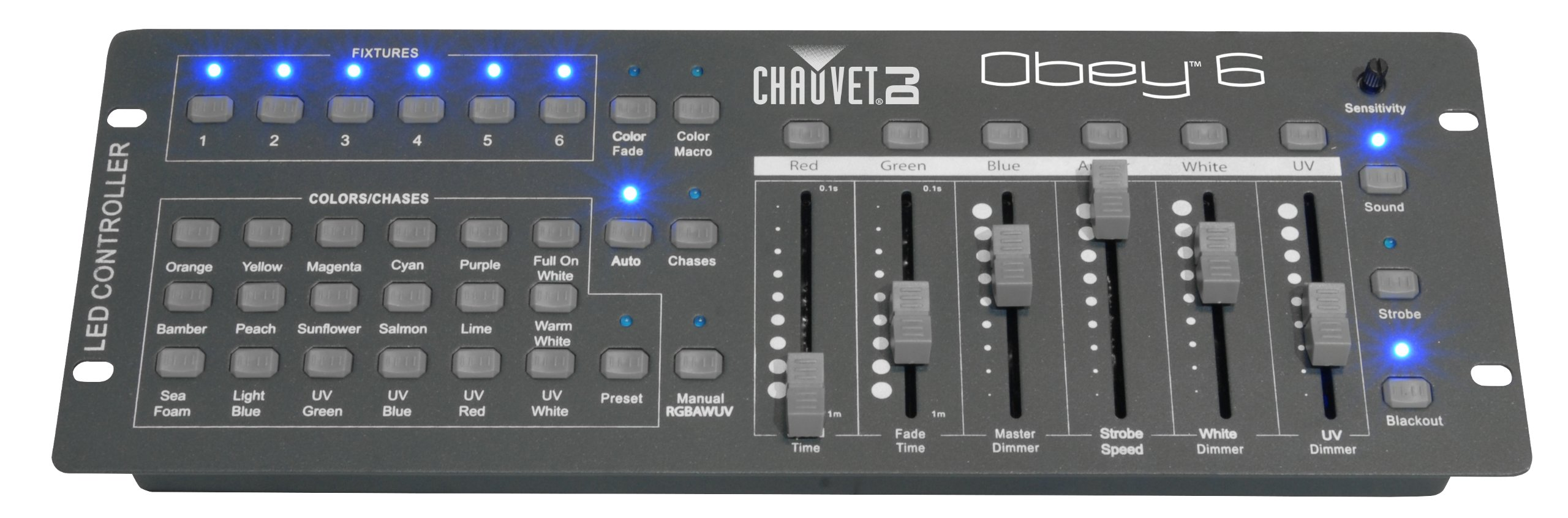 CHAUVET DJ Obey 6 Compact Universal LED Controller | LED Light Controllers