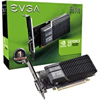 EVGA GeForce GT 1030 SC 2GB GDDR5 Passive, Low Profile Graphics Card (02G-P4-6332-KR)