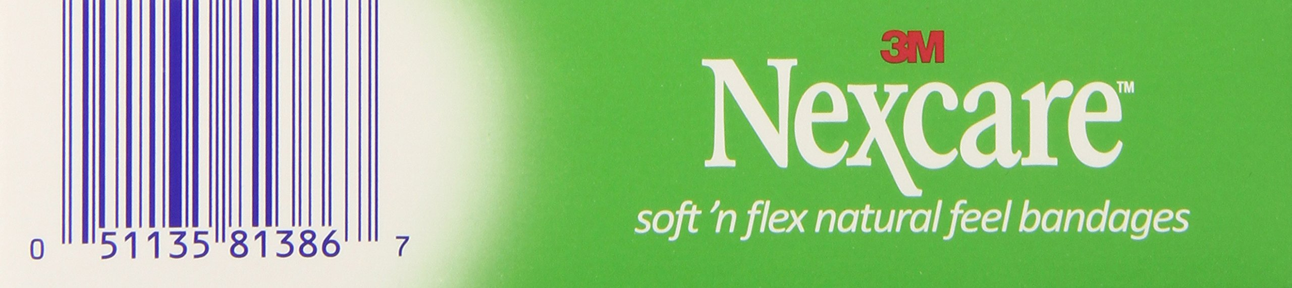 Nexcare Soft 'n Flex Bandages 8 Each (Pack of 6)