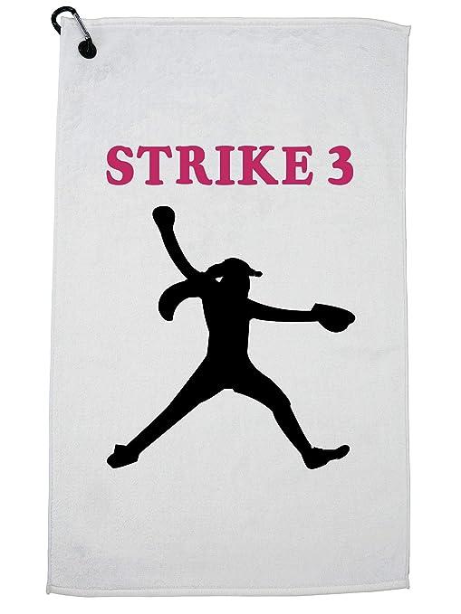 amazon com hollywood thread strike 3 softball pitcher silhouette