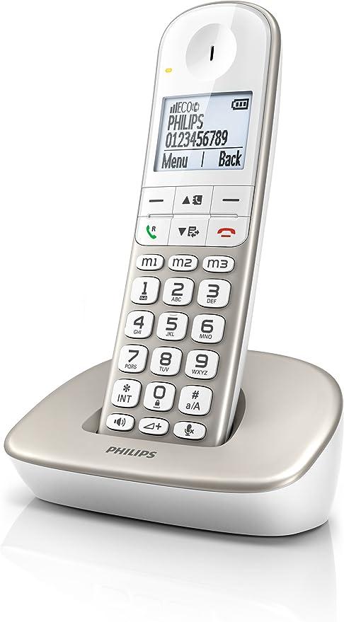 Philips XL4901S/38 - Teléfono (50 entradas): Amazon.es: Electrónica