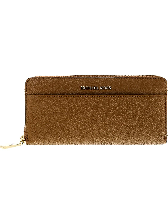 c5acd22d385a Amazon.com: Michael Kors Mercer Leather Wallet - Acorn: Michael Kors:  Watches