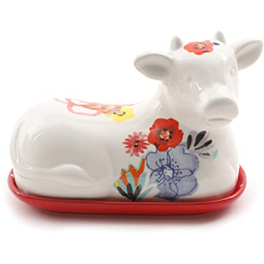 The Pioneer Woman Flea Market  Cow Butter Dish