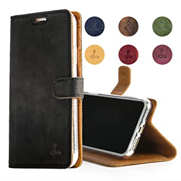 the best attitude 0fd87 460dd Snakehive APPLE IPHONE 7 Case, Luxury Genuine Leather Wallet with Viewing  Stand and Card Slots, Flip Cover Gift Boxed and Handmade in Europe for  Apple ...