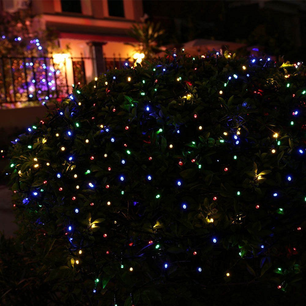 72ft 200 Led Solar Christmas Lights Multi Patio Lawn How To Fix Light Strings Garden